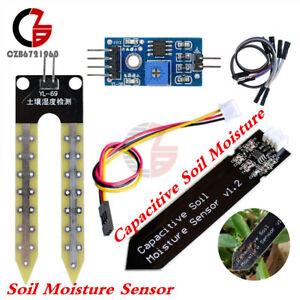 Sensor Cable Capacitive Soil Moisture Sensor Analog Corrosion Resistant V1.2