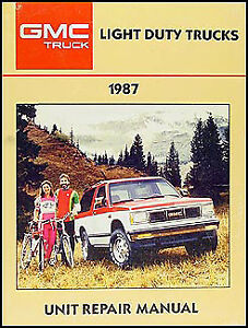 1987 gmc truck overhaul manual gas diesel engine sierra jimmy rh ebay com 1987 GMC Sierra Classic 2500 1987 GMC Sierra Classic 2500