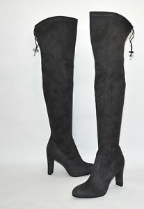 209443c53 New! Sam Edelman  Kent  Over the Knee Boot Gray Suede Size 6