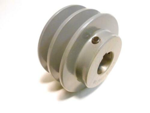 """5 3//4/"""" Double V Belt Pulley fits A and 4L Belt 5.75/""""  dia all bore sizes"""