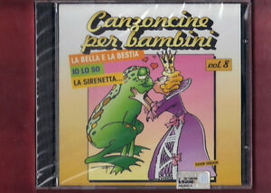 CANZONCINE-PER-BAMBINI-VOL-8-cover-version-CD-NUOVO-SIGILLATO