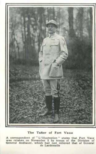 1917 Fort Vaux Retaken By Troops Of Division Of General Andlauer