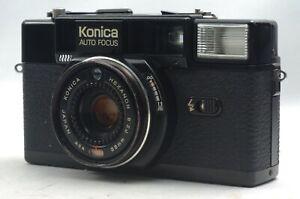 Schiff-in-24-HRS-Rabatt-Konica-c35-af2-Film-Kamera-Hexanon-38mm-f2-8-Objektiv