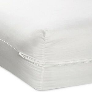 Queen Size Fabric Zippered Mattress Cover 16 Quot Bed Bug