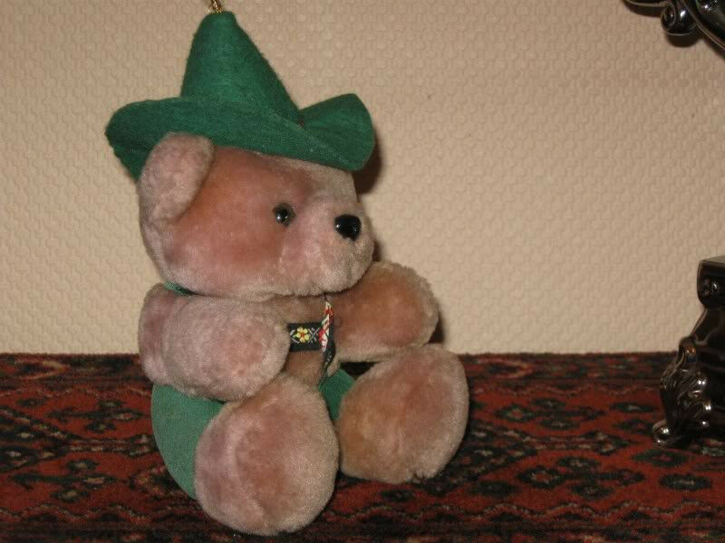 ES Germany Teddy Bear Bavarian Clothing