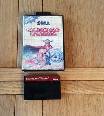 Sega Master System Game Golden Axe Warrior