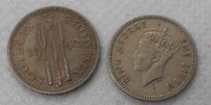 Lovely Südlichen Rhodesien 3 Pence 1952 Sonstige Münzen International