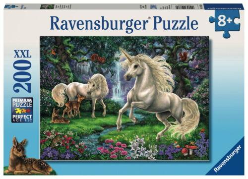 200 Teile Ravensburger Kinder Puzzle XXL Geheimnisvolle Einhörner 12838