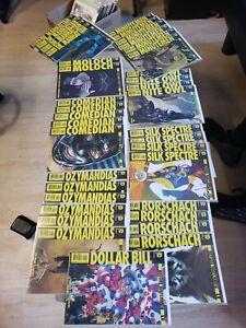 Before Watchmen Complete 37 Comic Book Set Rorschach Manhattan Comedian DC