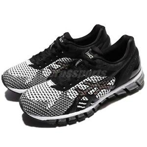 Asics-Gel-Quantum-360-Knit-Black-White-Silver-Women-Running-Shoes-T778N-9001