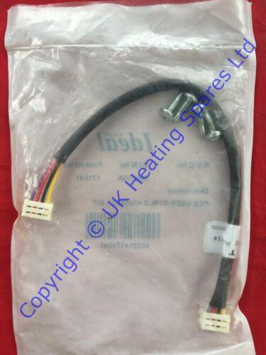 Isar Ideale HE24 HE30 HE35 /& M30100 Caldaia di controllo utente KIT DI CABLAGGIO PCB 171041