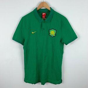 Nike-Beijing-Guoan-FC-Soccer-Shirt-Jersey-Size-XL-Slim-Fit-Short-Sleeve