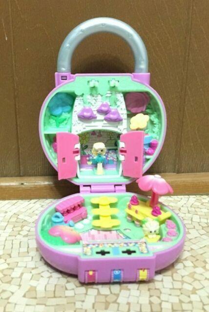 New Shopkins Lil' Secrets Lock Pretty Petals Playset Tiny World Light Purple