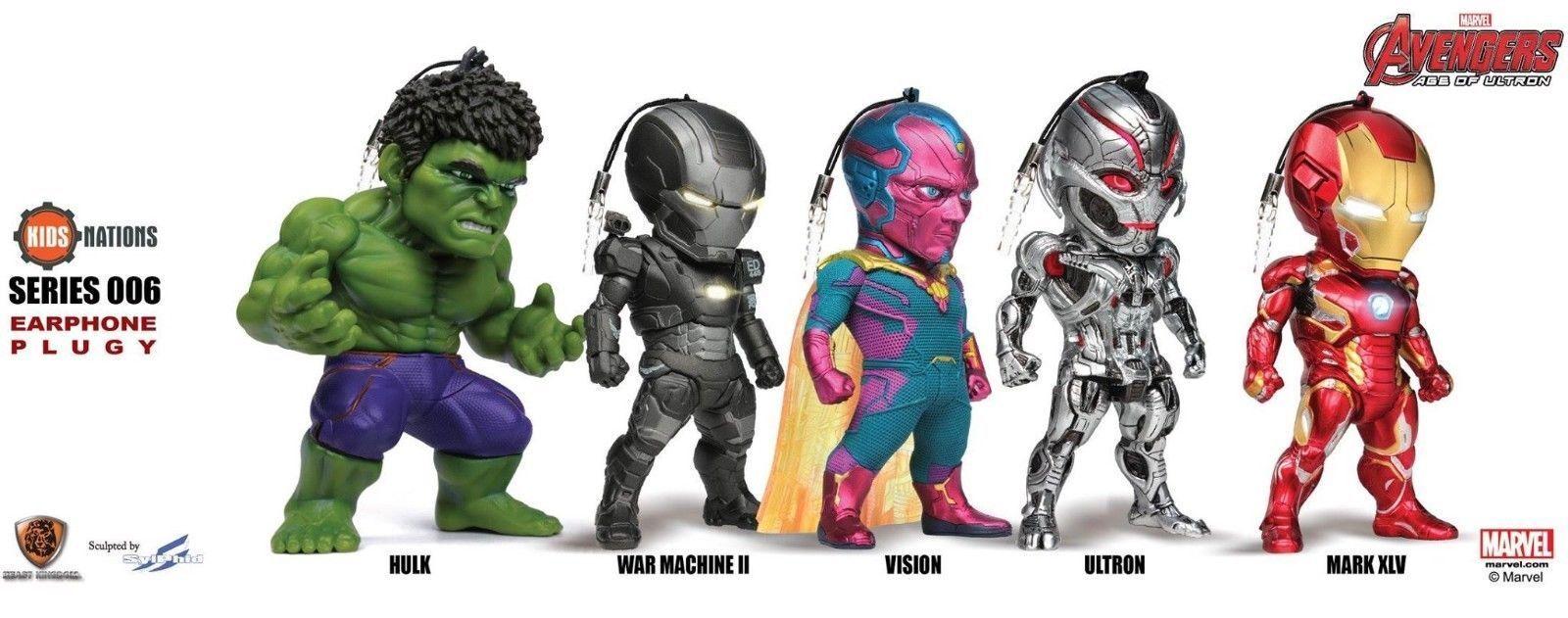 Kids Logic Naciones kn-006 Marvel Avengers Age Of Ultron Led Auricular Plug Set