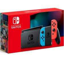 Nintendo переключатель с неоновый синий и красный радость-Con 32 ГБ (новый) 2020 V2 заводской упаковке