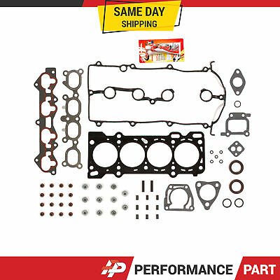 Engine Head Intake Exhaust Manifold Gasket Set for 93-97 Ford Probe 626 MX-6