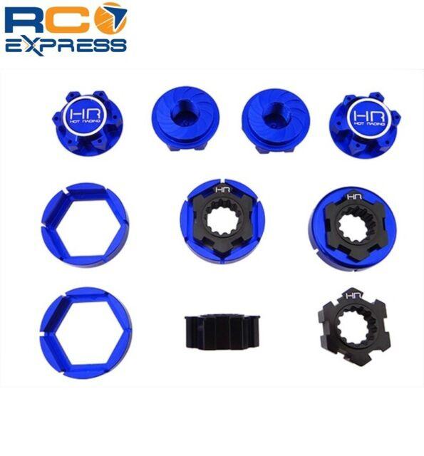 Hot Racing Alum 17mm Hex Wheel Hub 6mm for Traxxas 4X4 Slash//Stampede//Rally VXL