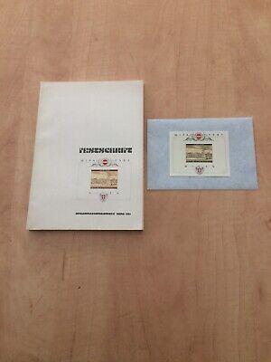 Wipa 1981 Festschrift Und Block PüNktliches Timing Zubehör Kataloge & Literatur
