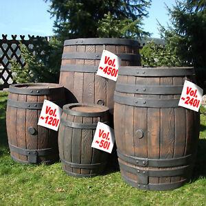 Rain ton Rain Barrel Water Barrel Rain Tank Rainwater Storage Garden Barrel Rain Tank