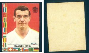 John-Haynes-Fulham-Inghilterra-MONDIALI-CALCIO-CILE-1962-NUOVO-n-129