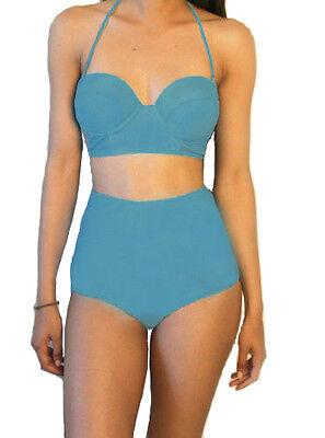 S M L XL XXL Womens Sexy Swimwear High Waisted Bikini Set  Swimsuit Underwear