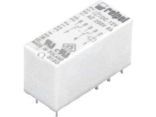 RM84-3012-35-1012 Relay electromagnetic DPDT Ucoil12VDC 8A//250VAC RELPOL