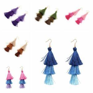 drei-farben-tassel-frauen-schmuck-hook-fringe-boho-ohrringe-baumeln-lassen
