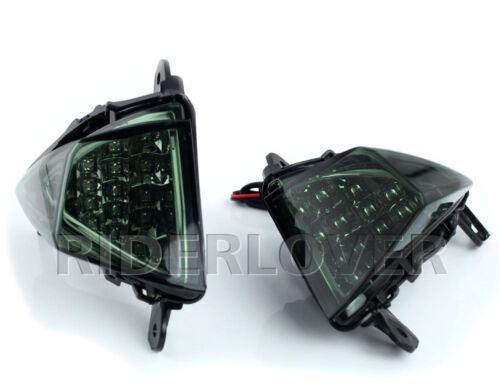Smoke Color Front LED Turning Signals For Kawasaki ZX-14R Ninja 2006-2017