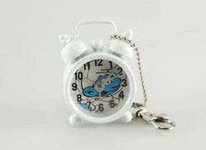 Horlogerie Schtroumpfs (Les) Mini Réveil, Cosmo Schtroumpf Blanc