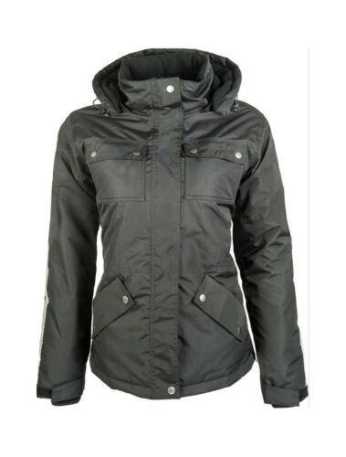 Ladies Winter Jacket Edmonton HKM Black Various Sizes New