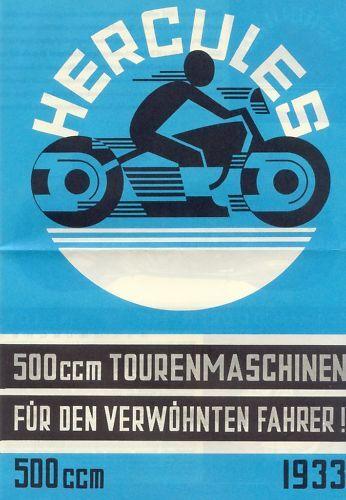 %% Hercules Prospekt 1933 500 Cc Norimberga Viaggi Jap Rendere Le Cose Convenienti Per I Clienti
