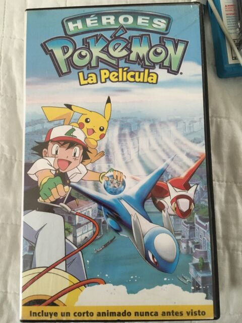 Pokemon Heroes The Movie Vhs 2004 For Sale Online Ebay