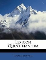 Lexicon-Quintilianeum-Brand-New-Free-P-amp-P-in-the-UK