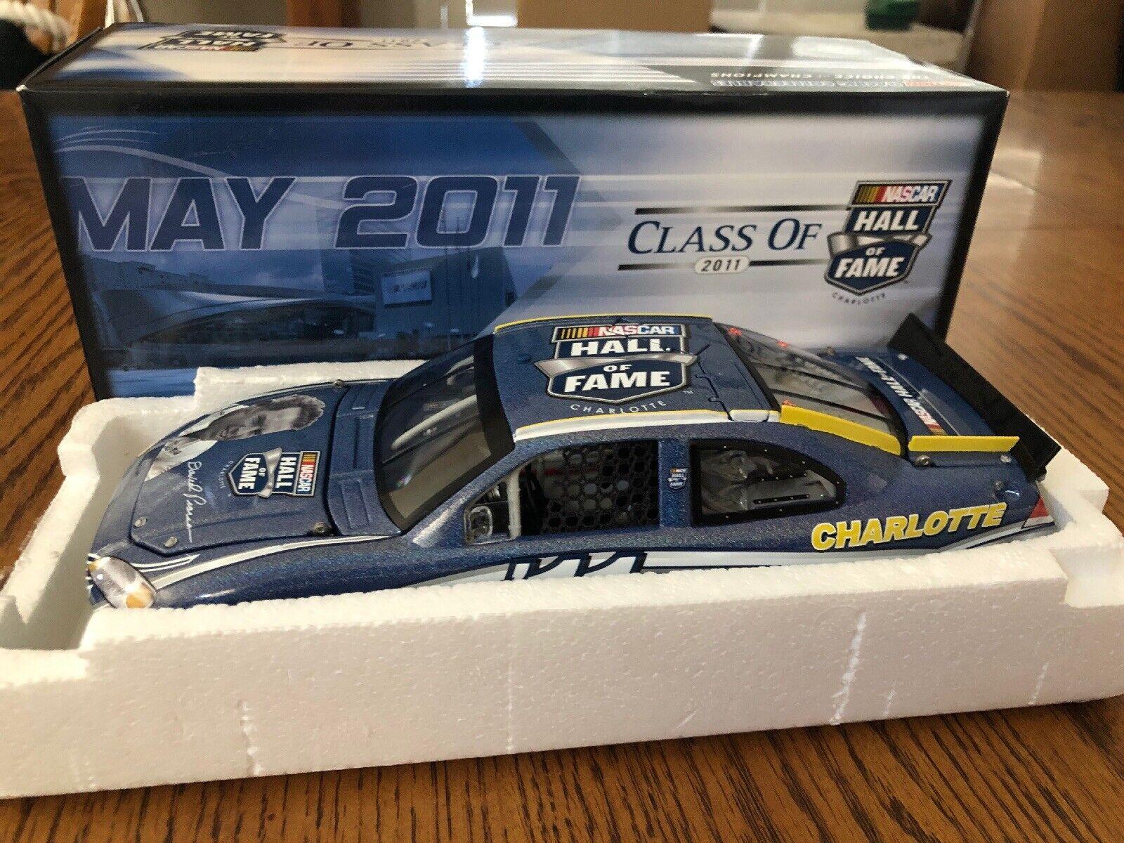 Azione RARE 1 24 David Pearson 2011 NASauto Htutti of Fame Flashboat Diecast