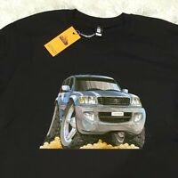 Men's T-shirt Toyota Landcruiser 4x4 Off Road 4wd Jeep, As Colour Car T-shirt.