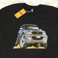 Men's T-shirt Toyota Landcruiser 4x4 Off Road 4wd Jeep, As Colour Car T-shirt.