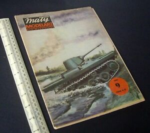 Maly Modelarz Poland Vintage Cut-Out Card Kit 1980s Light Tank PZInz.130