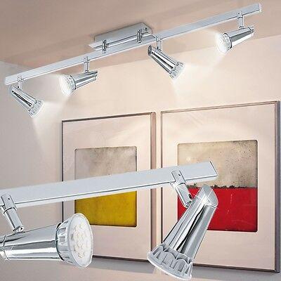 20 W LED Decken Leuchte bewegliche Spot Leiste Schlaf Gäste Zimmer Beleuchtung