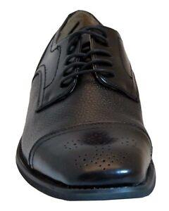 Giorgio Brutini Shea 177258 Mens Gray Leather Dress Lace Up Oxfords Shoes
