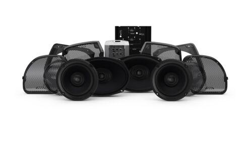 Rockford Fosgate Stage 3 400W Amp 4 Speaker Radio Audio Kit Harley FLTRXS 14-Up