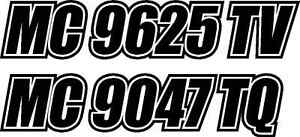 Pinstripe BOAT REGISTRATION NUMBERS Custom VINYL Decal - Custom vinyl decals numbers