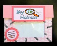 Baby First Hair Cut Girl Keepsake Holder