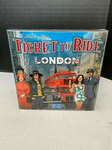 Ticket to Ride London Board Game by Days of Wonder New Sealed