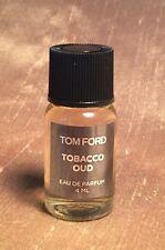 """TOM FORD """"Tobacco Oud"""" EAU DE PARFUM 4 ML LUXURY FRAGRANCE"""