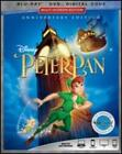 Peter Pan 1953 Blu Ray DVD Digital Disney Tinker Bell 2018