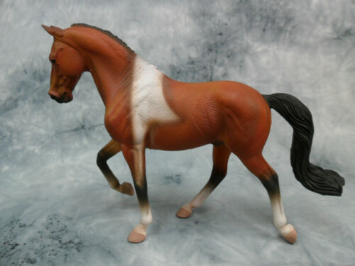 Tennessee Walking Horse Stallion Bay Pinto CollectA NIP #88450 TWH Model