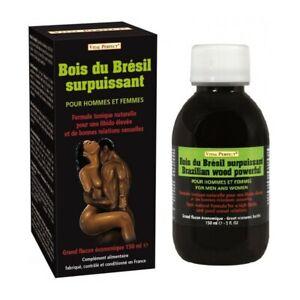 Aphrodisiaque - Stimulant sexuel pour homme et femme Bois Bandé du Brésil