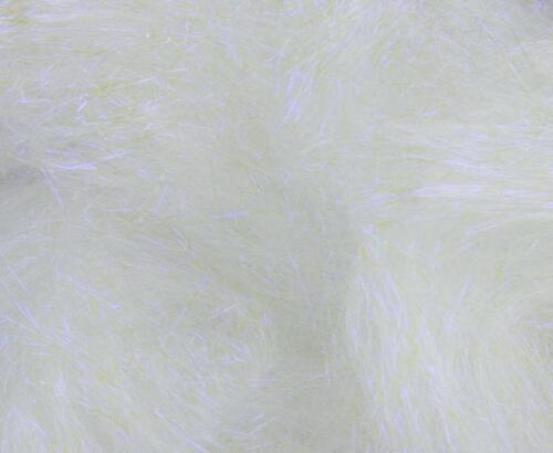 10 g Angelina Fibre Blanc violette crystalina chaleur Cautionnable fusible//feutrage//Spin