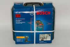 Bosch 65 360 Degree Line Amp Cross Red Laser Level Gll 2 20 Brand New With Case