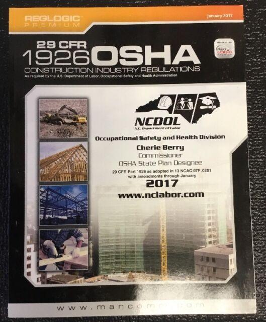 29 CFR 1926 OSHA Construction Industry Regulations January 2017